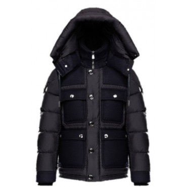 moncler doudoune flannel down jacket