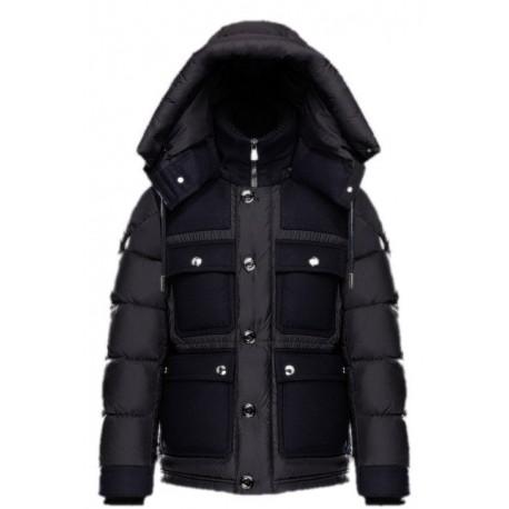 5ea485cdbd45 Moncler Rillieux Jacket marine - L Aiglon - Prêt-à-porter haut de ...