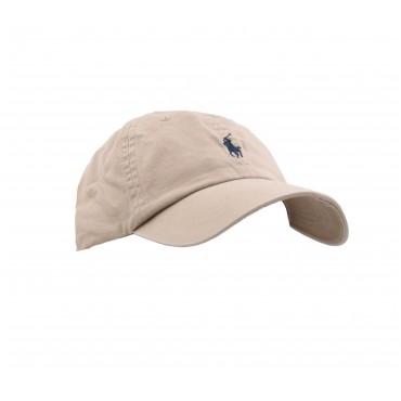 SPORT CAP-HAT NUBUCK/RELAY BLU