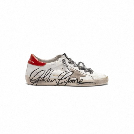 SUPERSTAR WHITE PATENT CRACK-I
