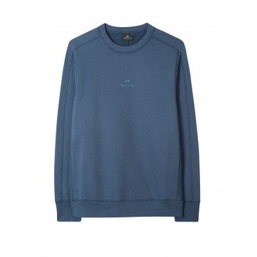 MENS REG FIT PANEL SWEATSHIRT