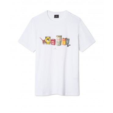 MENS SLIM FIT TSHIRT OIL CANS