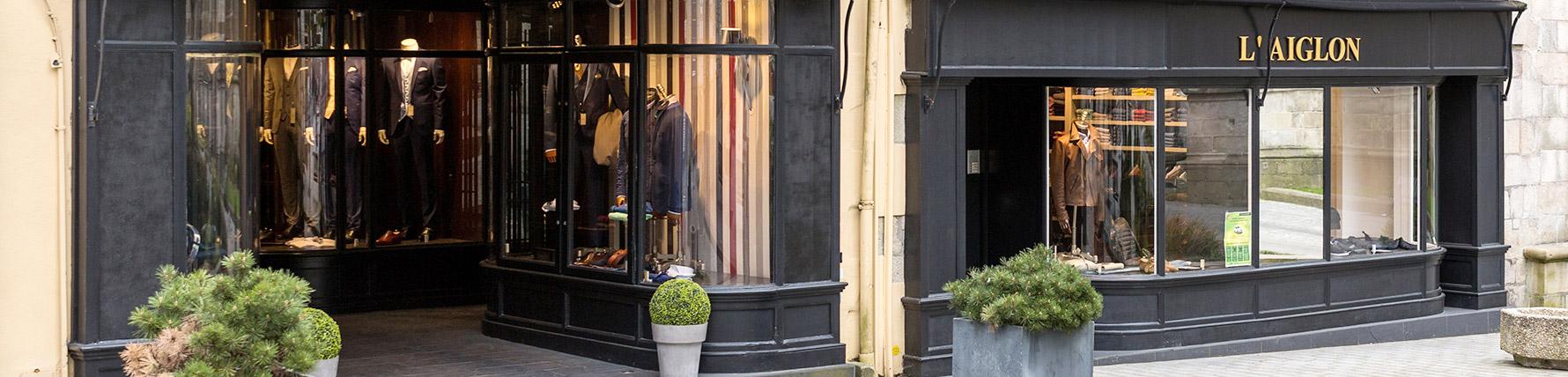 lowest discount presenting new products Quimper - L'Aiglon - Prêt-à-porter haut de gamme Homme et Femme